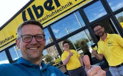 Besuch bei Orthopädie Schuhtechnik Uber GmbH